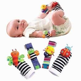 Lamaze Wrist Rattle and Foot Finder Set