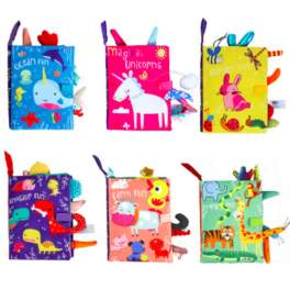Baby Soft Cloth Tails Book